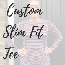 Custom Adult Slim-Fit Tee - Baboosh Designs
