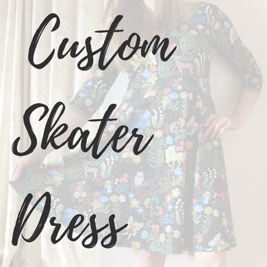 Custom Adults Skater Dress