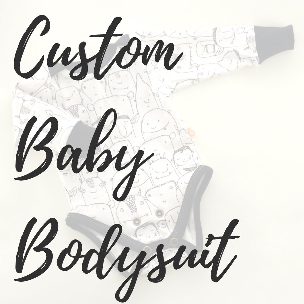 Custom Baby Bodysuit - Baboosh Designs