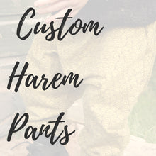 Custom Harem Pants for Babies, Kids & Grown-Ups - Baboosh Designs