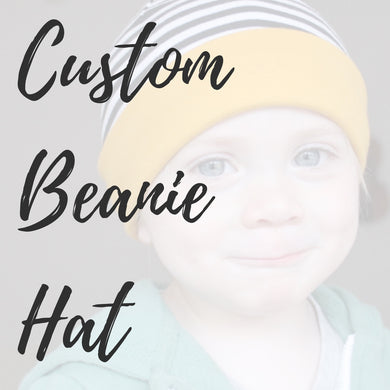 Custom Beanie Hat - Baby, Kids, Adults