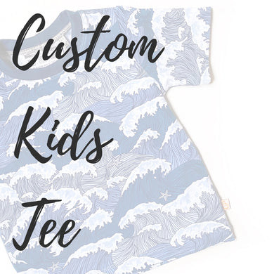 Custom Kids Casual Tee - Short or Long Sleeves