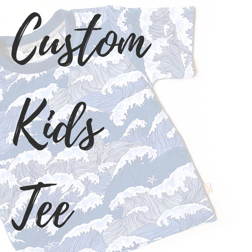 Custom Kids Casual Tee - Baboosh Designs