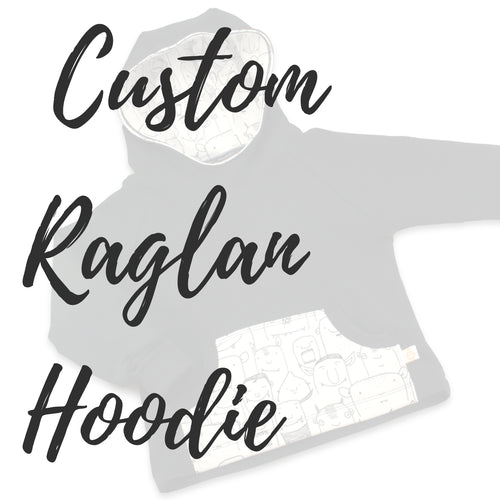 Custom Hoodie for Babies, Kids & Adults - Baboosh Designs