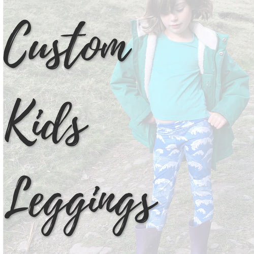 Custom Kids Leggings
