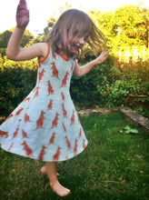 Girls Jersey Skater Dress Sewing Pattern - Free UK Shipping! - Baboosh Designs