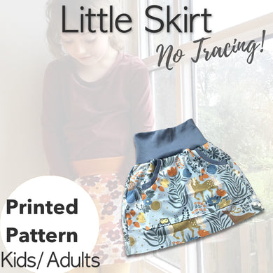 Little Skirt Girls/Womens Sewing Pattern - Free UK Shipping!