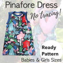 Pinafore Dress Sewing Pattern - Free UK Shipping! - Baboosh Designs