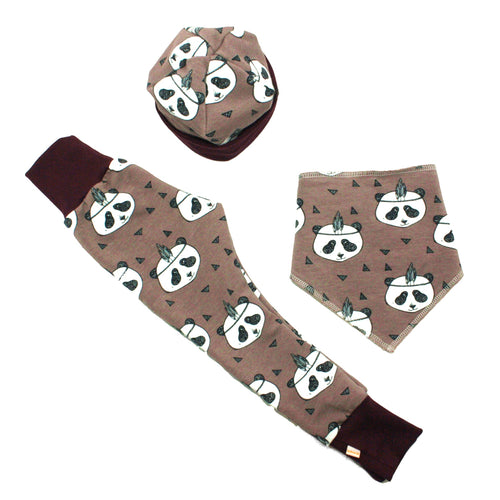 Panda Organic Baby Gift Set - Baboosh Designs