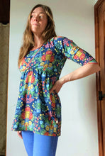 Custom Women's Wrap Tunic (with optional breasfeeding panel)