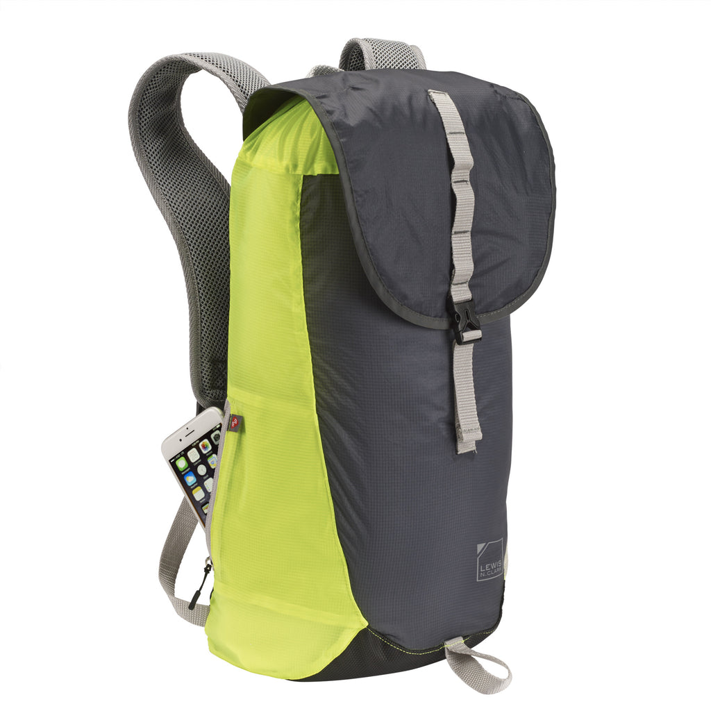 Lewis N Clark Lightweight RFID Blocking Packable Travel Backpack