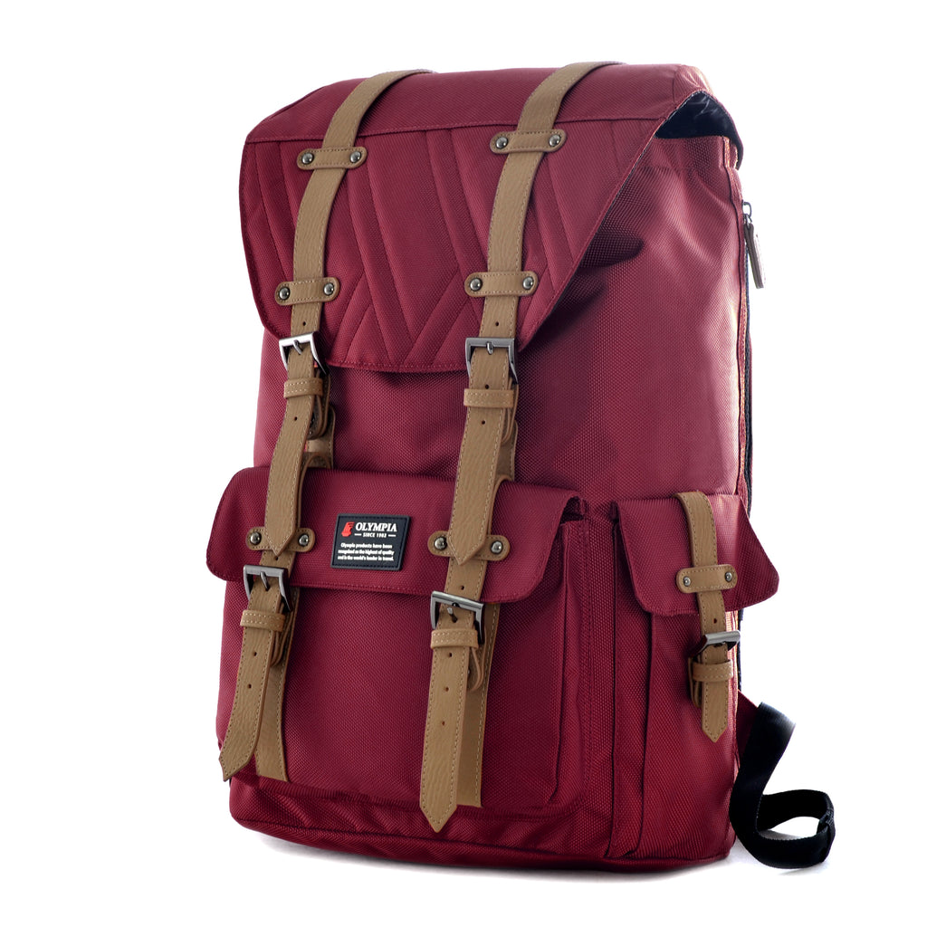 Olympia Hopkins Laptop Backpack Wine