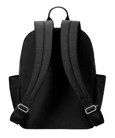 Baggallini Cargo Backpack Black Scatter