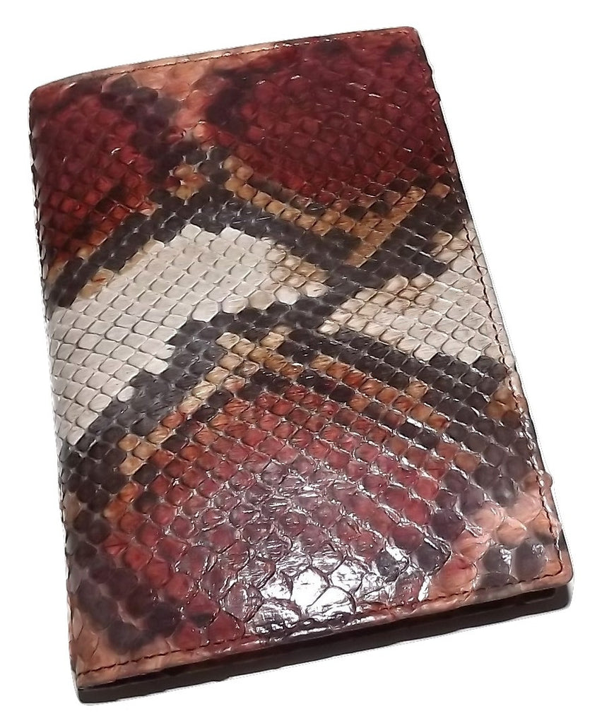 Baglioni Italia Genuine Python Snakeskin Address Memo Book