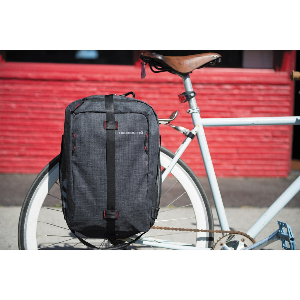Blackburn Central Saddle Bike Pannier Charcoal