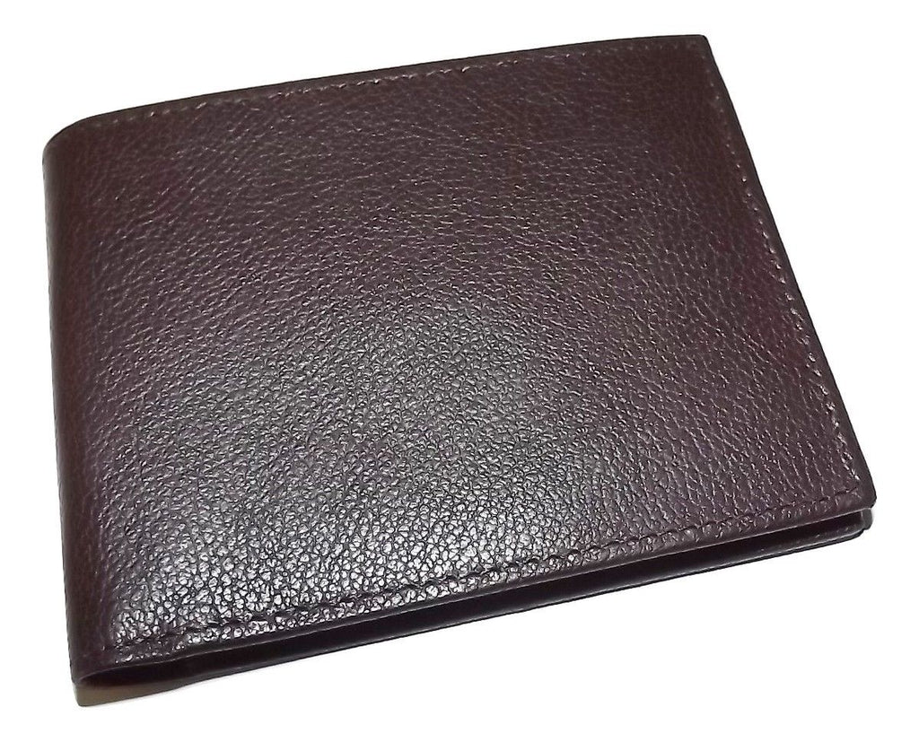 Bosca Austin Bifold Continental ID Wallet Brown