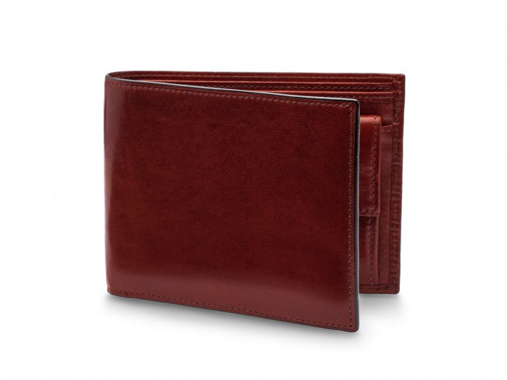 Bosca Old Leather Executive Wallet with Change Pocket Cognac