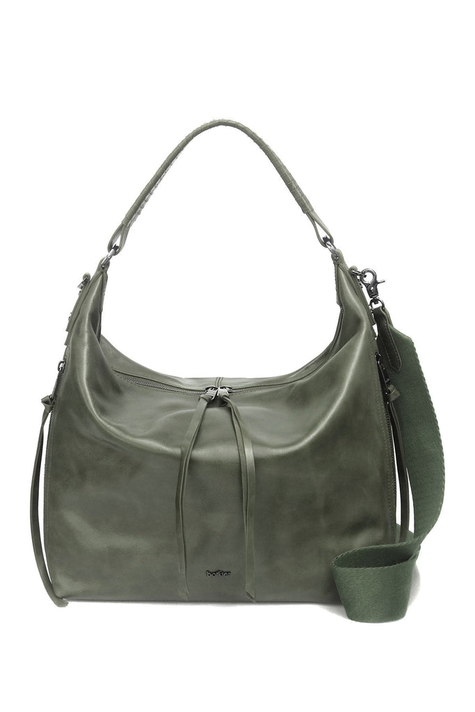 Botkier Samantha Hobo Shoulder Bag Pine