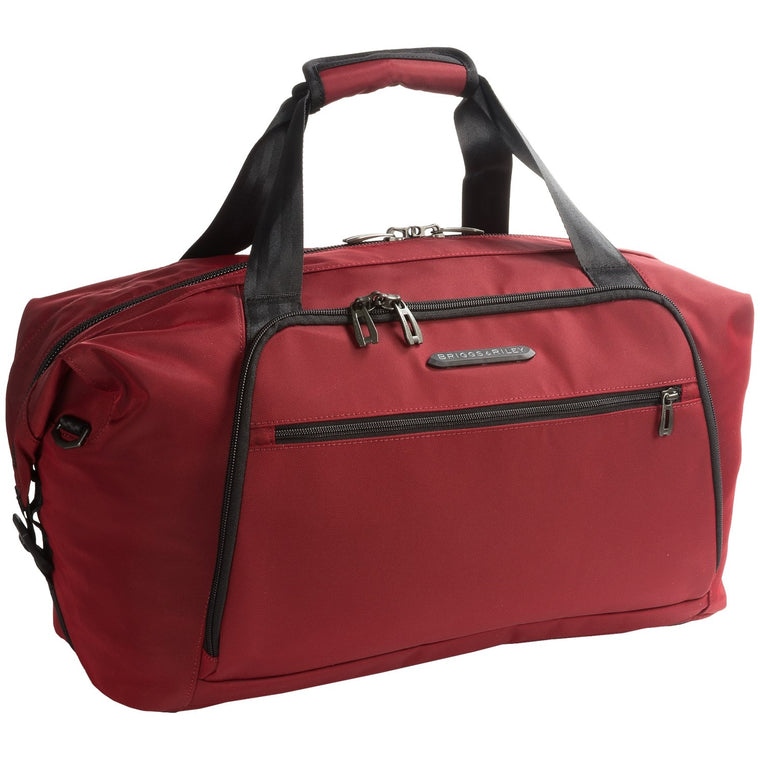 Briggs & Riley Transcend Weekender Duffel Bag Crimson