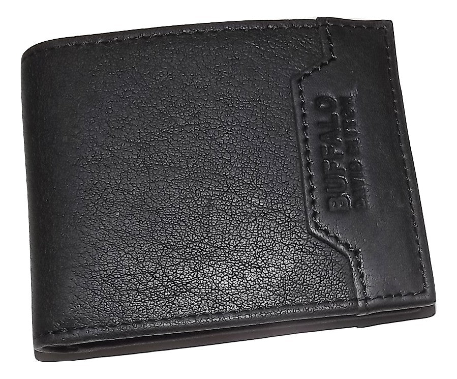 Buffalo David Bitton RFID Bifold 6 Pocket Wallet