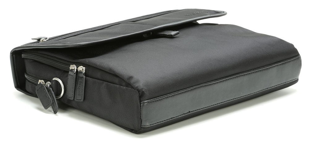 Bugatti Off Road Laptop Tablet Briefcase Black