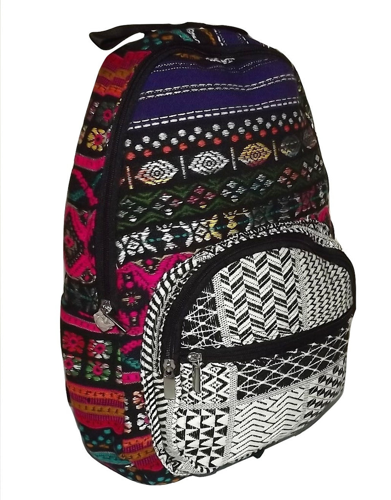 Cappelli Women's Woven Cotton Andean Backpack
