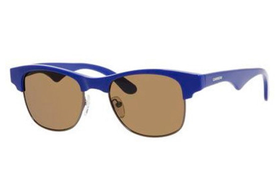 Carrera Dee Sunglasses Blue Frame Brown Lens