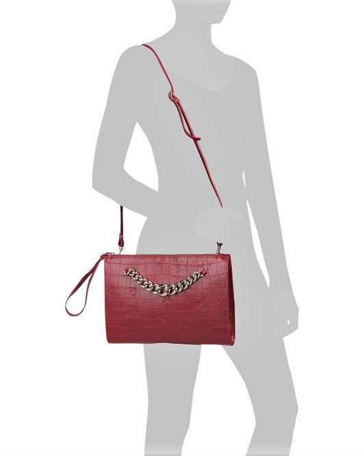 Claudia Firenze Large Convertible Wristlet Crossbody Bag