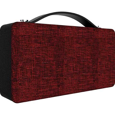 Coby Decor Bluetooth Wireless Speaker Red
