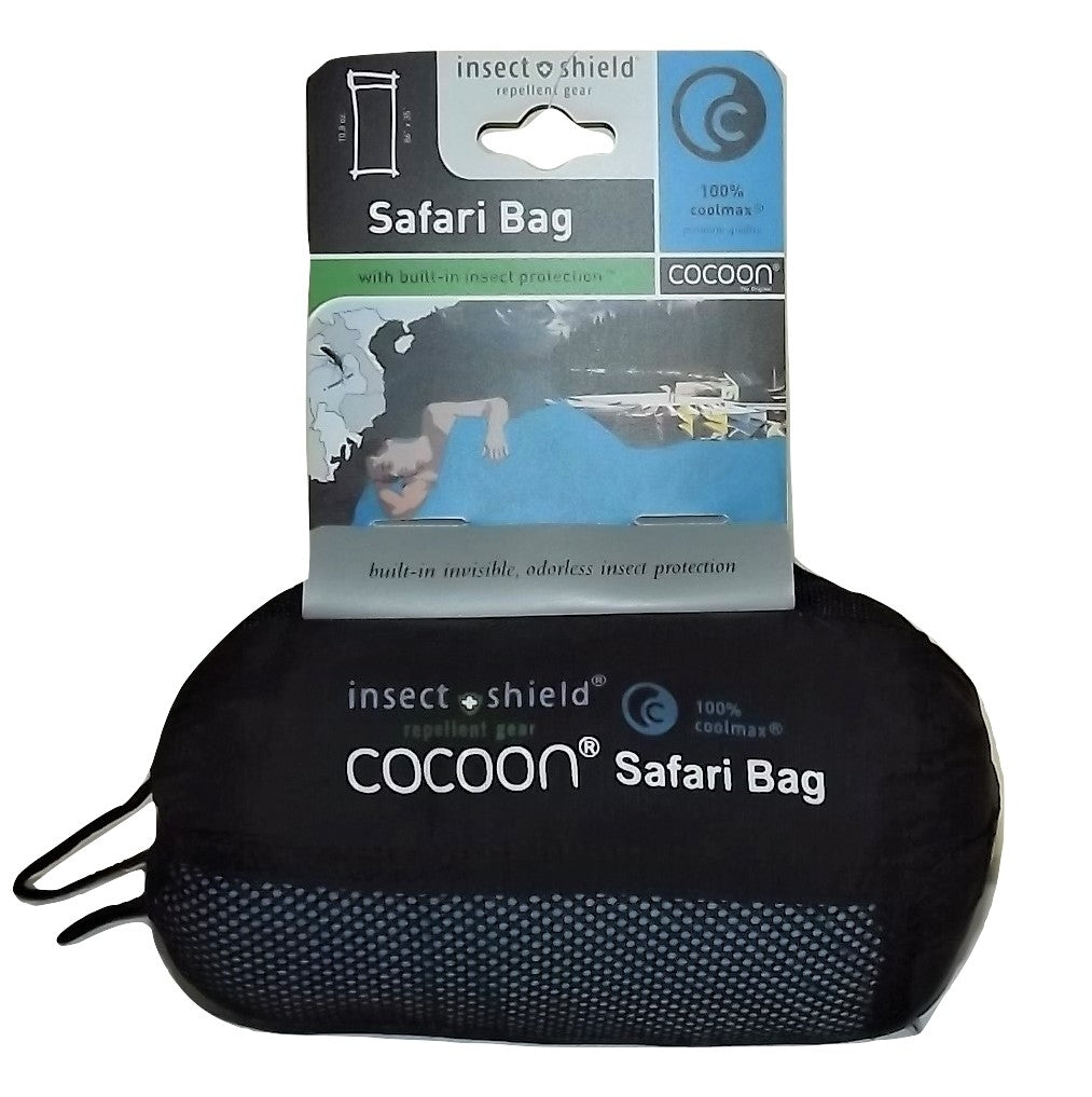 Cocoon Coolmax Insect Shield Safari Bag Packaging