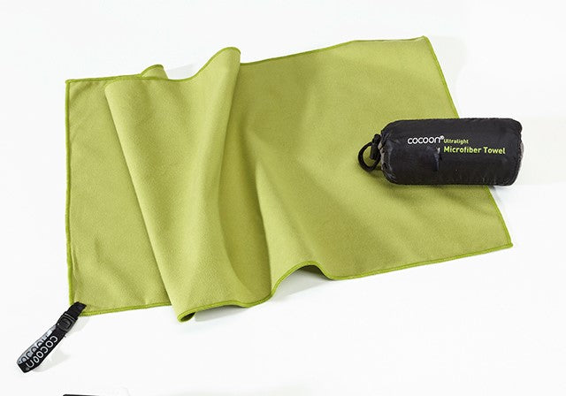 Cocoon Microfiber Travel Towel Small Size Wasabi