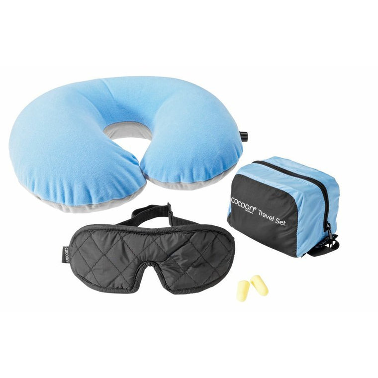 Cocoon Ultralight 3 Piece Travel Set Light Blue