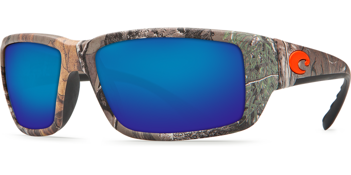 Costa Del Mar Fantail Sunglasses Blue 580P Lens Realtree Frame