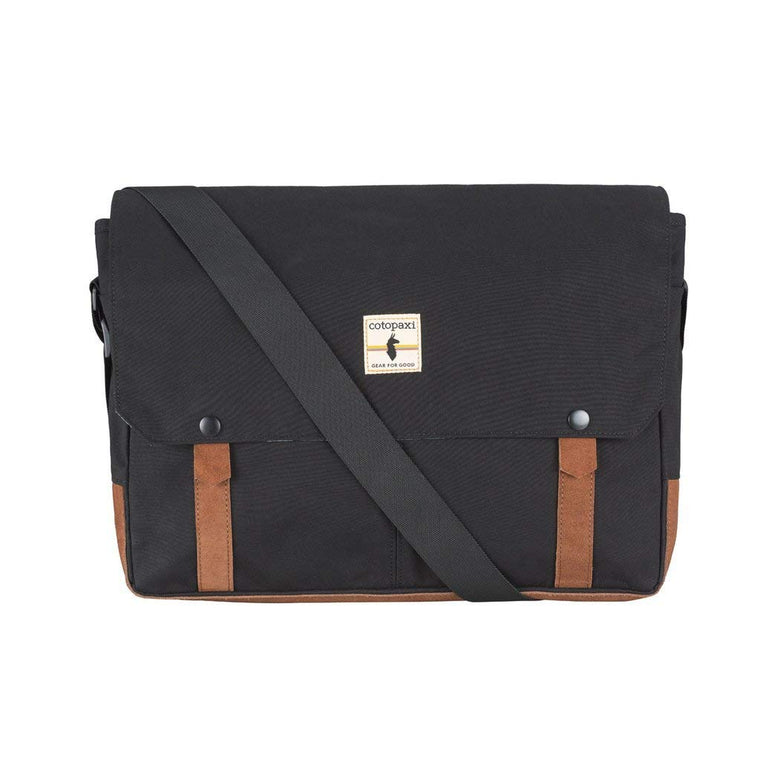 Cotopaxi Palpa Laptop Messenger Bag Black/Tan
