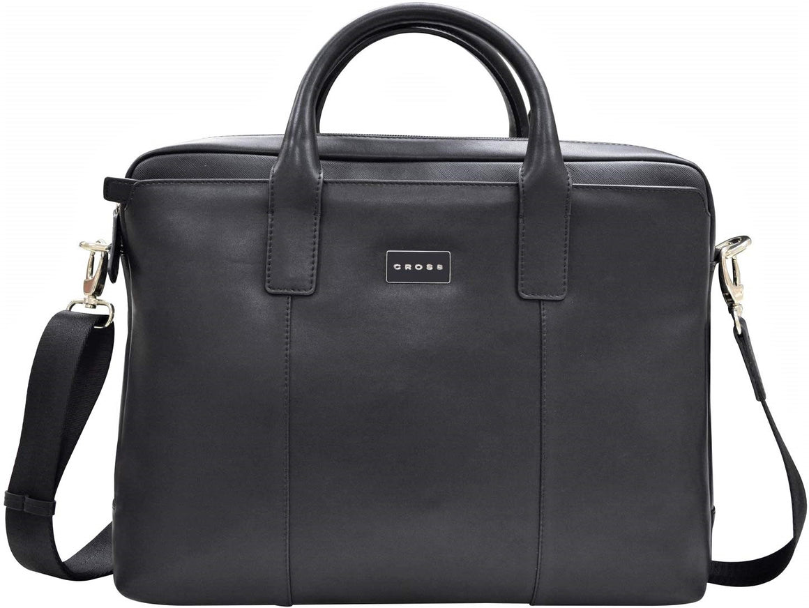 Cross Cordoba Leather Briefcase Black