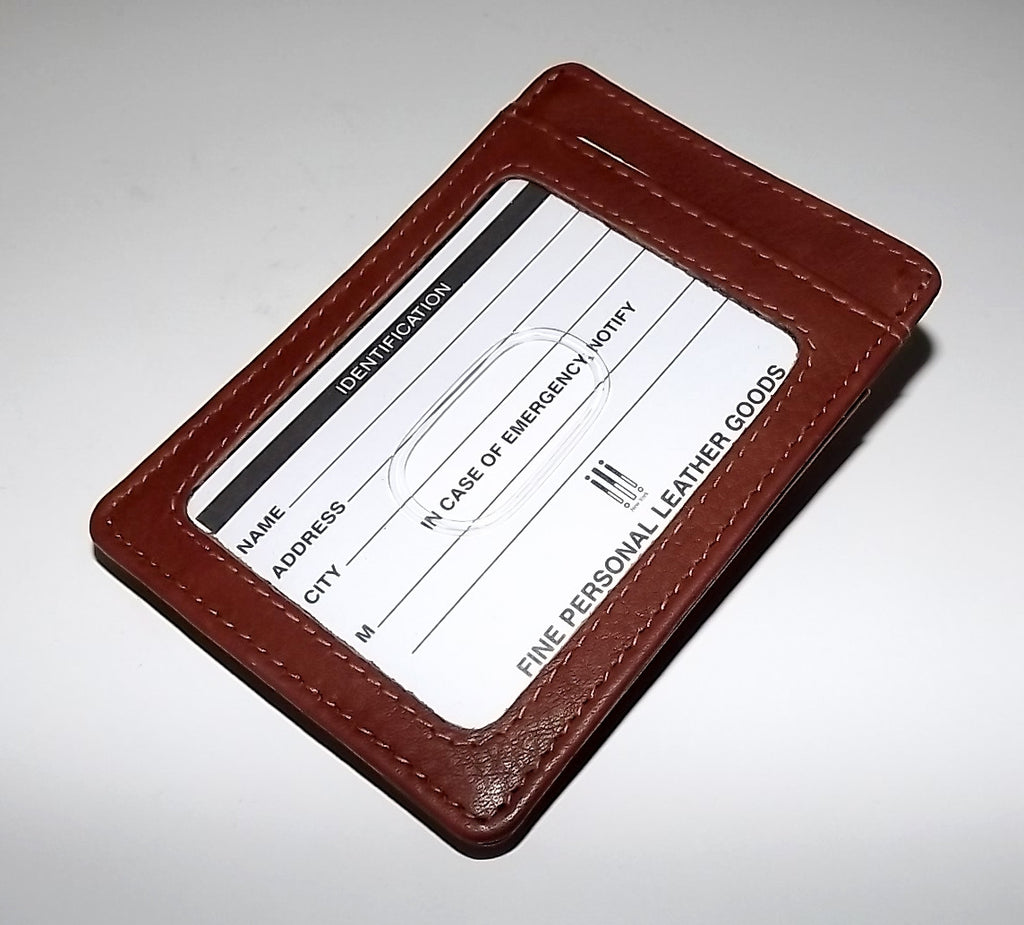 Italia Leather Men's RFID Protected Front Pocket Money Clip Wallet