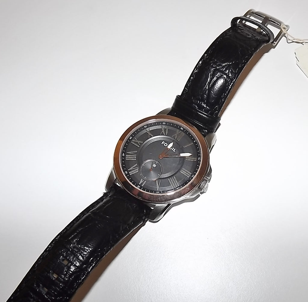 Fossil Grant Men's 3 Hand Watch