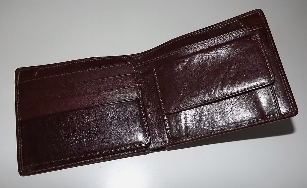 Giudi Italia Passcase Wallet Brown