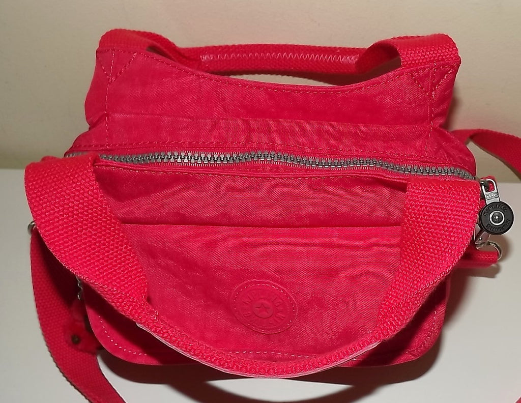 Kipling Women's Felix Small Crossbody Shoulder Bag Jazzy Pink