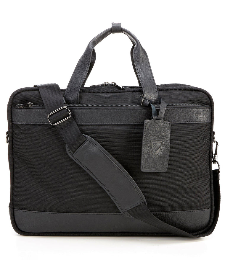 Daniel Cremieux Ballistic & Leather Laptop Briefcase