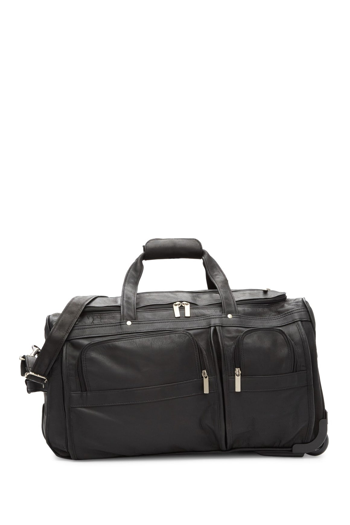 David King 20 Wheeled Duffel Cognac