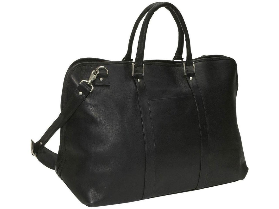 David King Large Opening Duffel Bag Cognac
