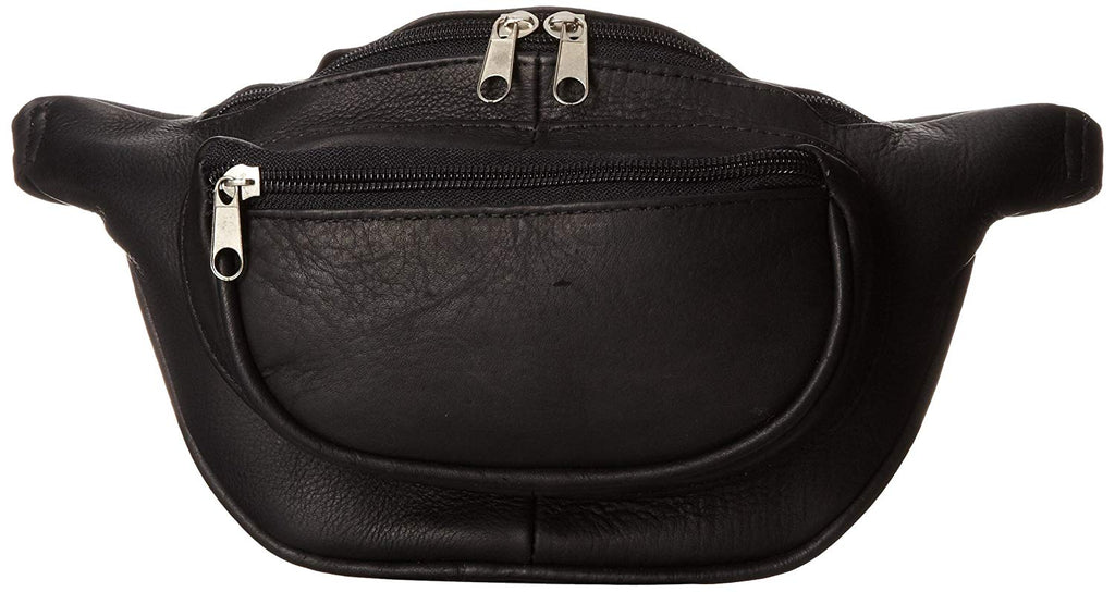 David King Leather Waist Pack Black