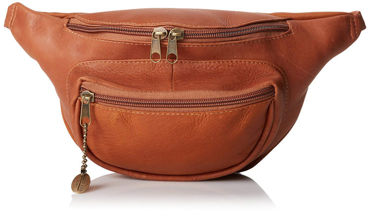 David King Leather Waist Pack Cognac