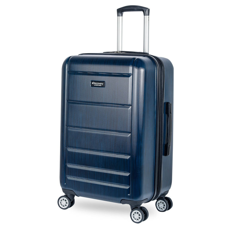 "Discovery Adventures Sahara 24"" 4 Wheel Spinner Luggage"
