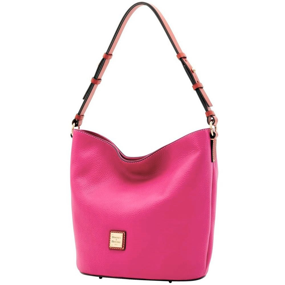 Dooney & Bourke Thea Feed Bag Magenta