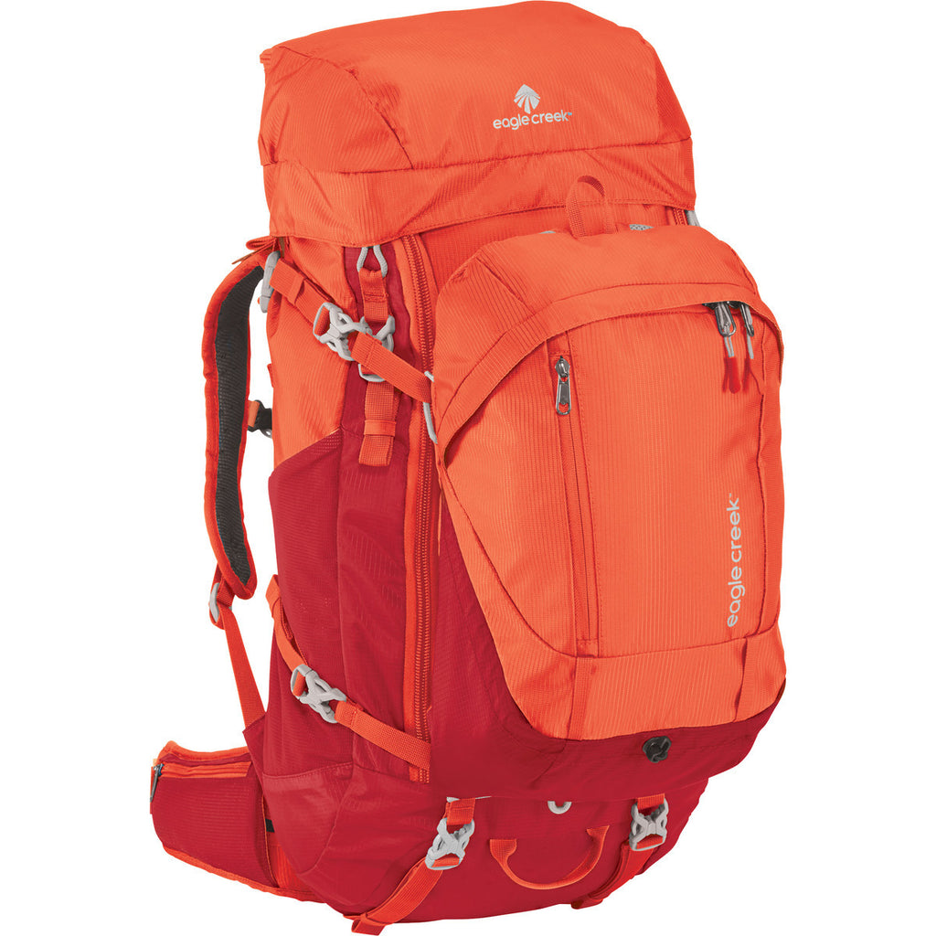 Eagle Creek Deviate 60L Women's Travel Pack Flame Red