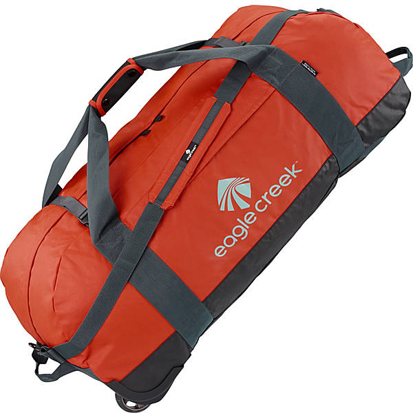 Eagle Creek Flash Point Wheeled Packable Duffel Bag XL Red Clay
