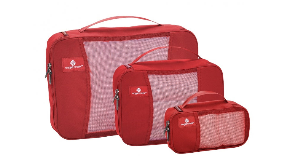 Eagle Creek Pack-it Original Cube Set Red Fire