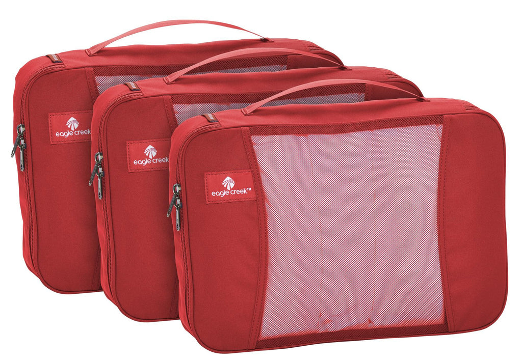 Eagle Creek Pack-it Original Full Cube Set Red Fire